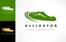 Crocodile Logo Vector. Alligat...