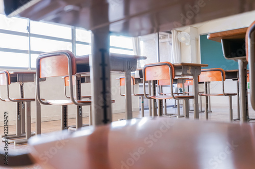 Foto op Aluminium Luchthaven 学校の教室
