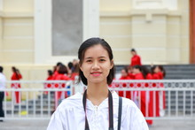Woman Traveling To Thanh Hoa ,...