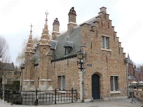Keuken foto achterwand Brugge Bruges