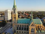 Fototapeta Miasto - Łódź, Polska- Bazylika archikatedralna.