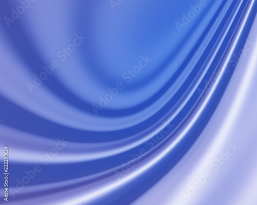 Blue Wavy abstract silky background