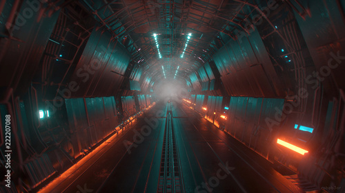 tunel science fiction