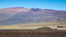 Mauna Kea, Seen From Mauna Loa...