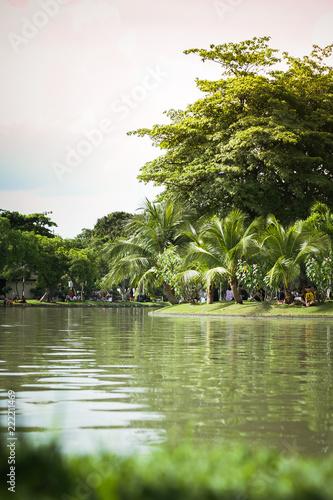 Fotografie, Obraz  Bangkok Parque