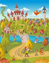 Magic World With Fairy Tale Ch...