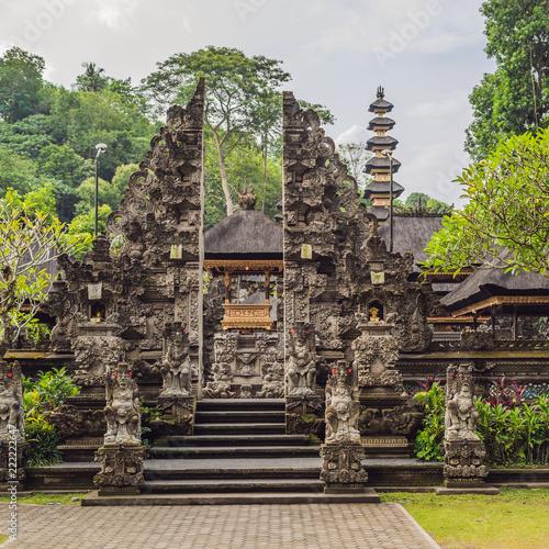 Spoed Foto op Canvas Bedehuis Pura Gunung Lebah. Temple in Bali, Indonesia