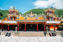 Chuen Ji Hall Temple In Jinguashi, Taiwan