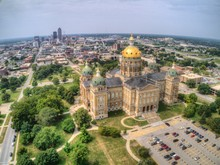 Des Moines Is The Urban Capitol Of The The Rural State Of Iowa