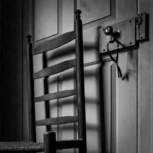 Ladderback And Lock