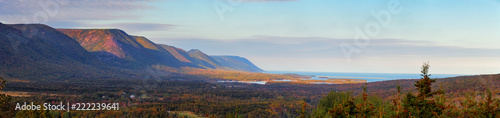 Canvas Print Panorama in Nova Scotia