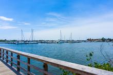 The Yachts At Boat Marina And ...