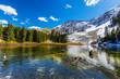 Beautiful mountain landscape in Telluride, Colorado, on a bright autumn day