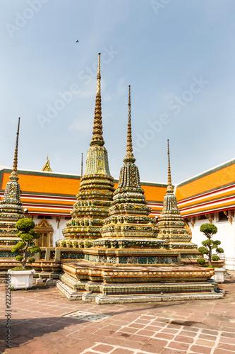Photo  Stupas, Wat Pho