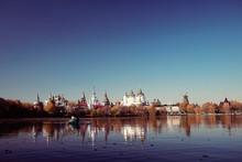Izmailovo Kremlin River Russia Architecture