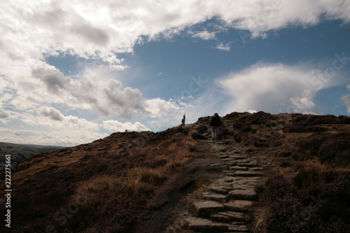 Spoed Foto op Canvas Chocoladebruin Highlights from Peak District