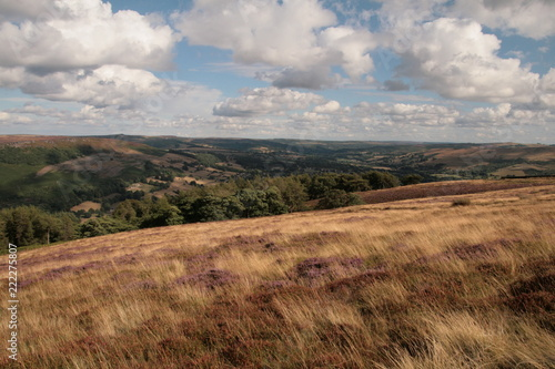 Spoed Foto op Canvas Bleke violet Highlights from Peak District