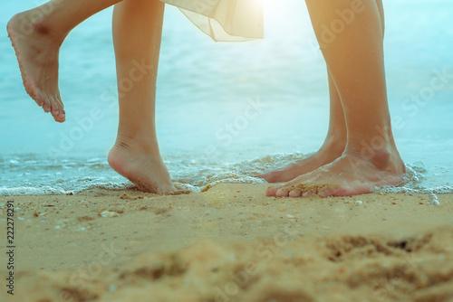 Fotografia  A loving couple on vacation