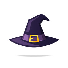 Witch Hat Vector Isolated