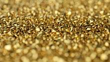 Abstract Gold Background. Gold...
