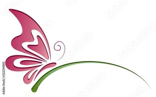 Fotografie, Obraz  Symbol of butterfly.