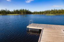 Swim Raft Floating Dock In Norway