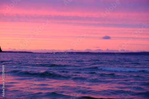 In de dag Candy roze red ocean