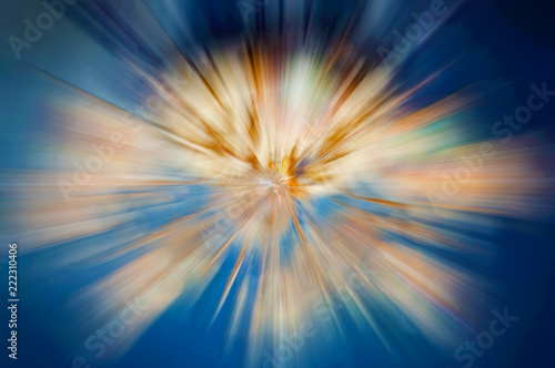 Bright abstract motion background, galaxy, lines