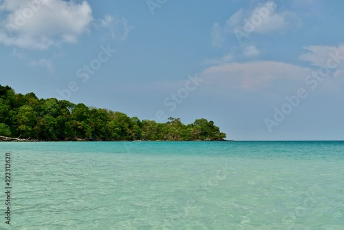Spoed Foto op Canvas Eiland Koh Rong island paradise (Cambodia)