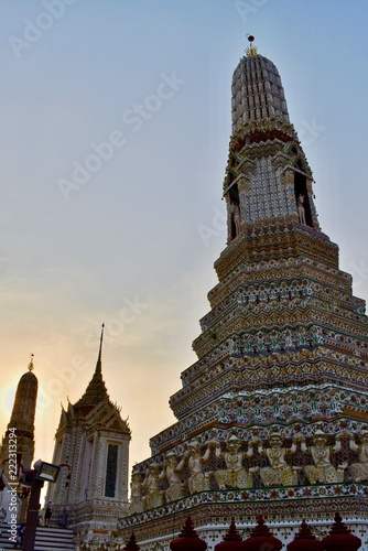 Wat Arun in Bangkok (Thailand)