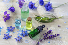 Herbal Therapy. Essential Oils...