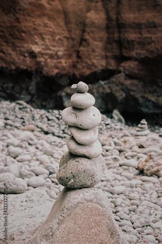Zen Balance Stone Meditation Stillness