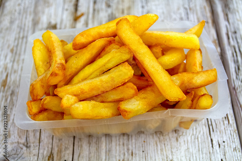 Cuadros en Lienzo barquettes de frites
