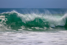 Large Wave Crashing At The Wed...