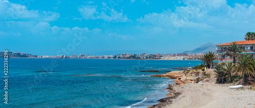 Mediterranean Sea coastline (Murcia, Spain).