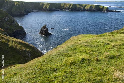 Paesaggio irlandese in autunno