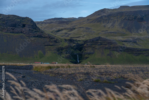 Landscapes in the south coast of Iceland, summer 2018