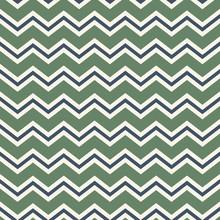 Zigzags, Seamless Chevron Pattern, Scrapbook Background, Green, Blue, White Backdrop