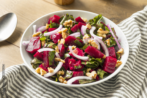 Healthy Organic Beetroot Salad