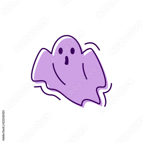 Photo Ghost icon Halloween