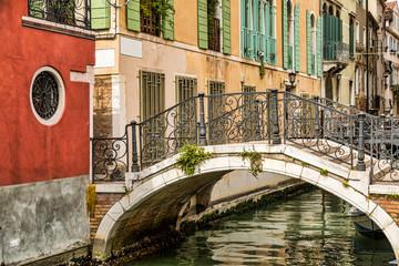 Fototapeta Architektura canal in venice italy
