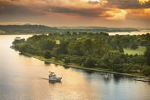 Potomac River Marina And Wharf In Washington DC USA