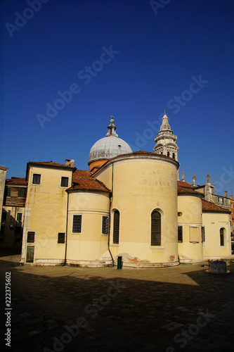 Fotografía  Exterior view of the church of Santa maria Formosa