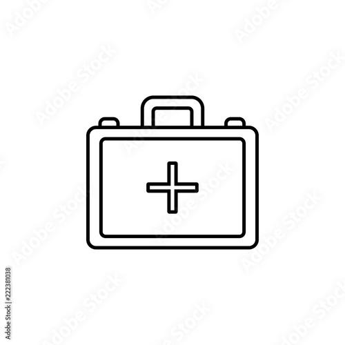 Fotografie, Obraz  First aid kit icon