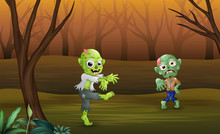 Halloween Celebration Of Zombi...