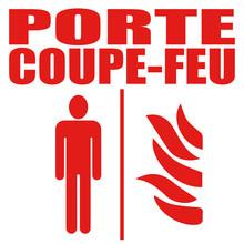 Logo Porte Coupe-feu.
