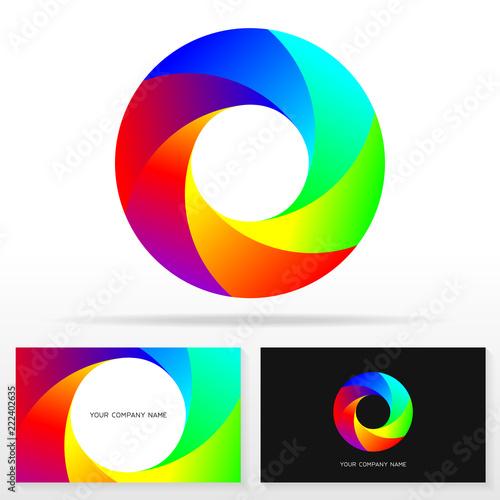 letter o logo design vector sign stock vector emblem business