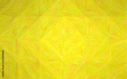 Photo Stands Slices of fruit Abstract illustration of peridot Crayon background, digitally generated.