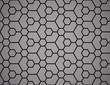 The geometric pattern with lines. Seamless vector background. Black texture. Graphic modern pattern. Simple lattice graphic design