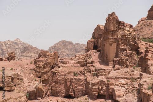 Foto op Aluminium Zalm High Place of Sacrifice. Petra, Jordan